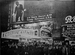 The Jazz Singer movie premier